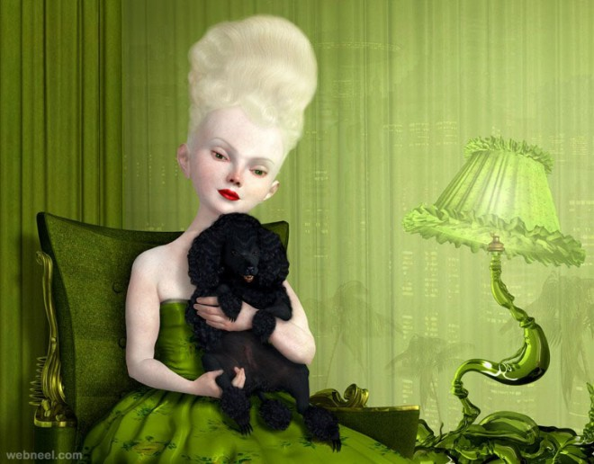 guardian painting by ray caesar