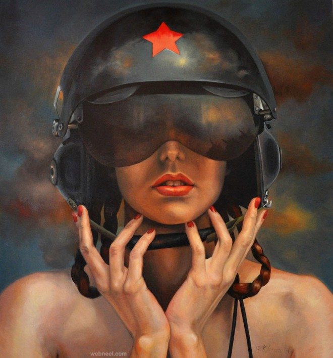 hyper realistic painting by kathrin longhurst