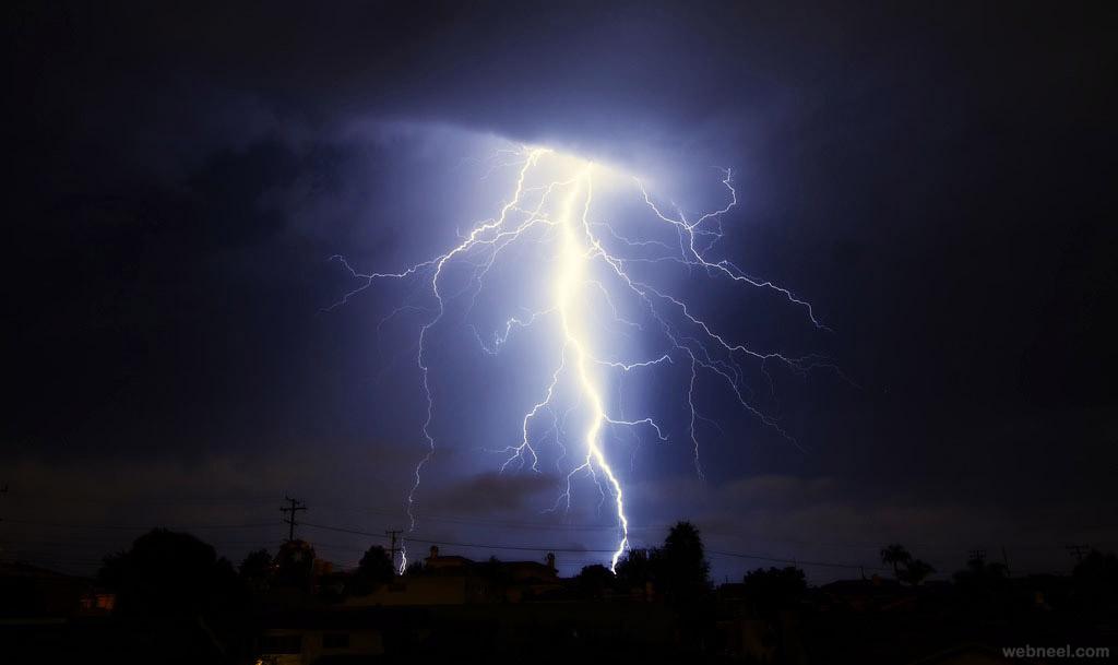thunder storm lightning