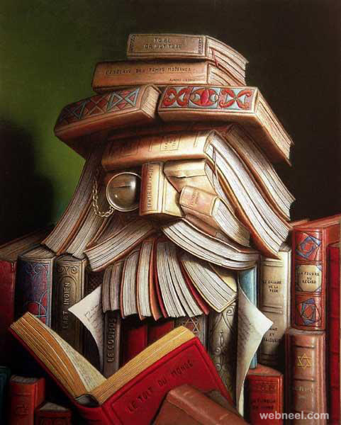 creative book art