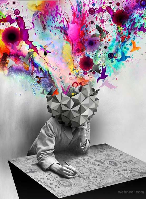 creative mind explosion
