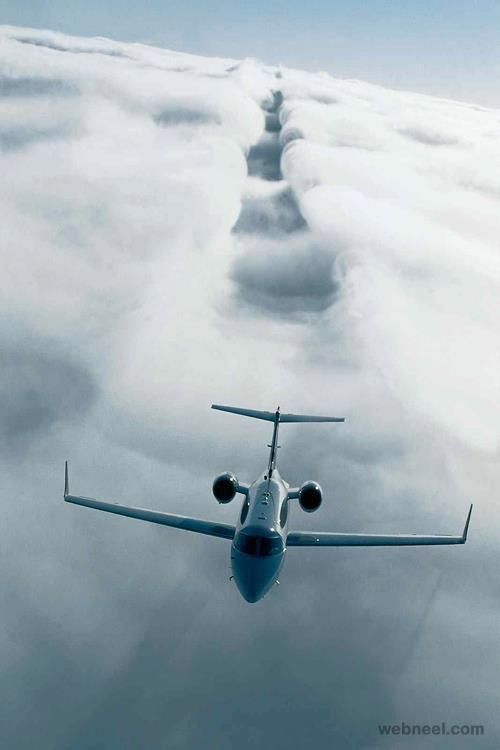 flight path photograph