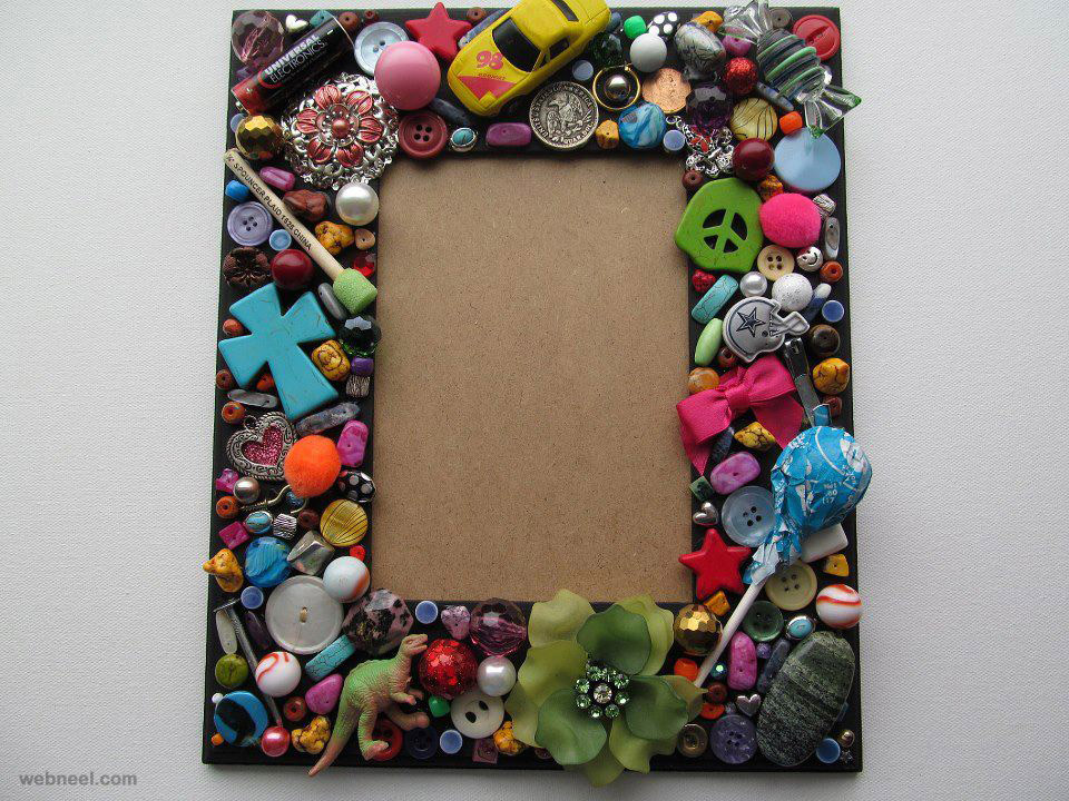 handmade creative photo frame