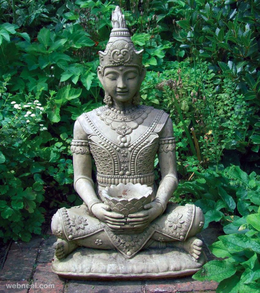 buddha garden sculpture