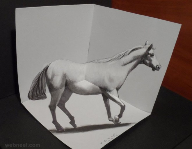 50 Beautiful 3D Drawings - Easy 3D Pencil drawings and Art works