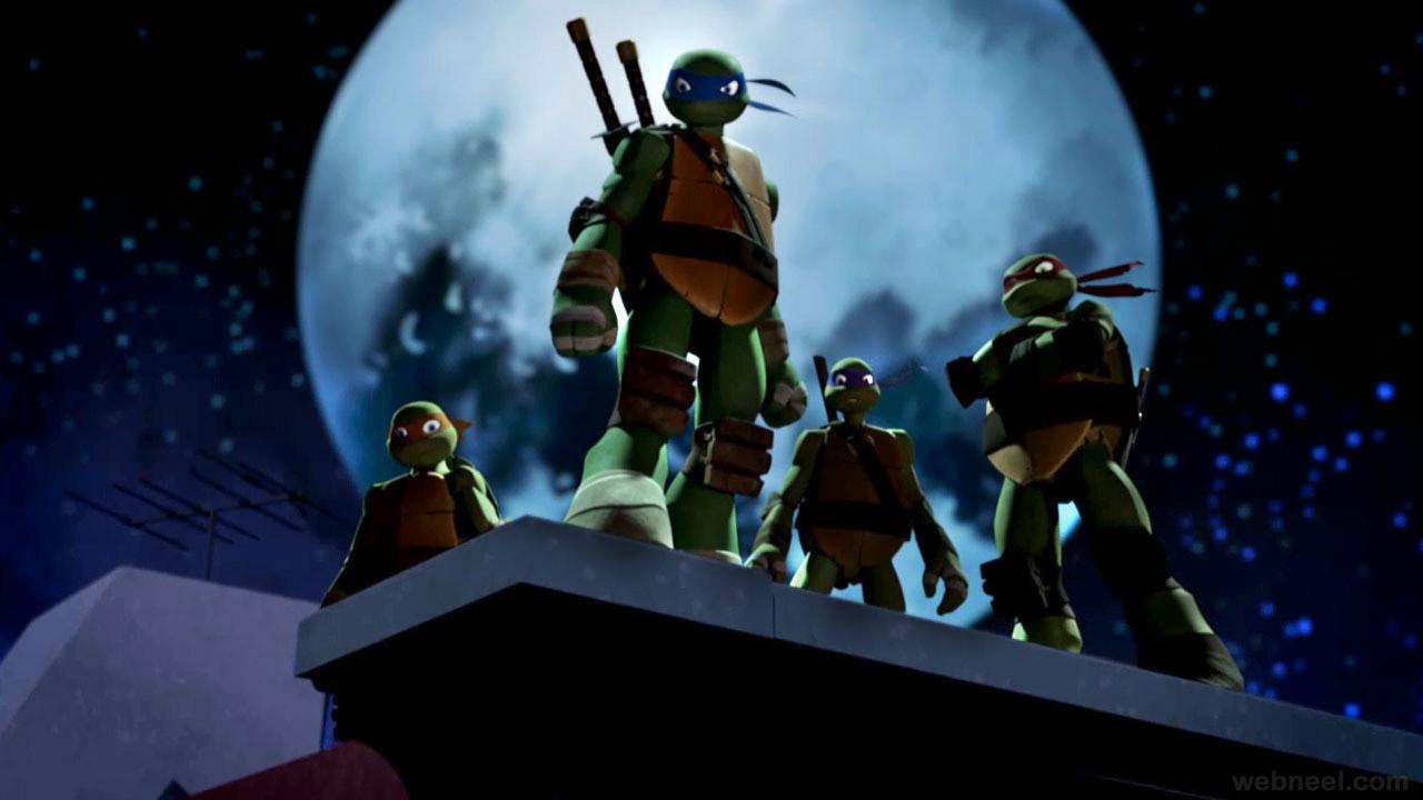 teenage mutant ninja turtles wallpaper 2