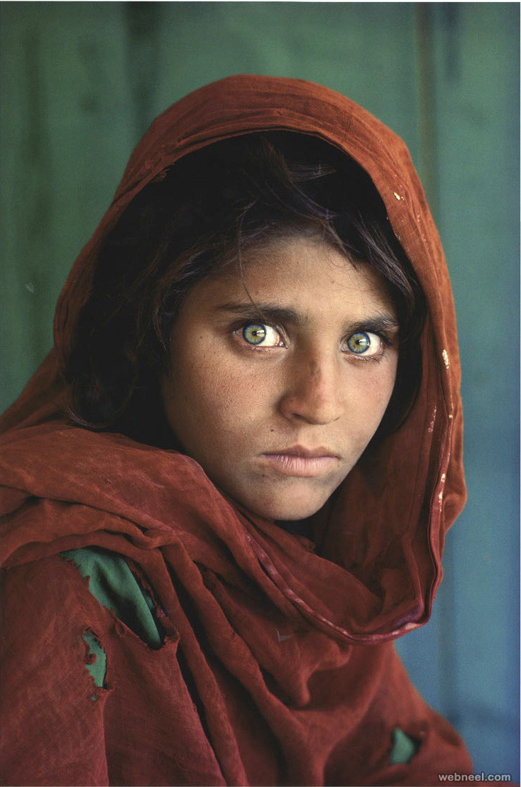 afghan girl famous photographer steve mccurry