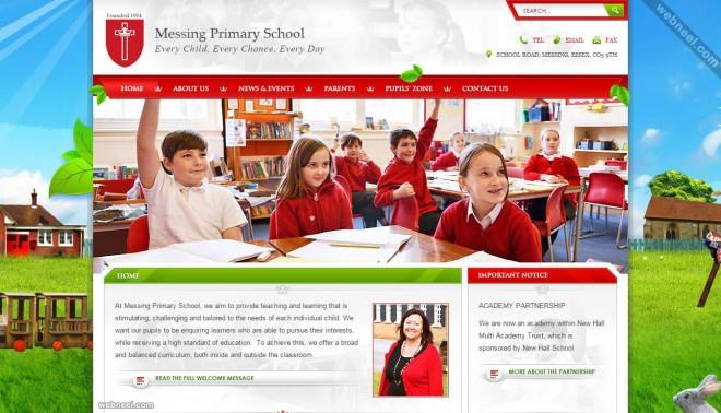 school website messing uk
