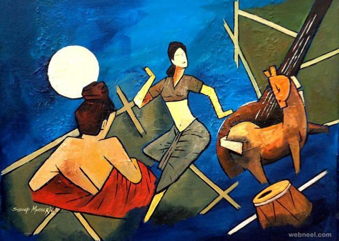 indian paintings by mukherjee