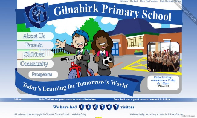 school website gilnahirk