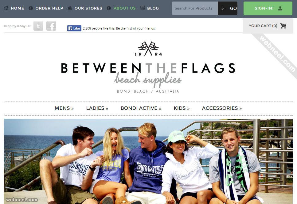 e commerce website betweentheflags