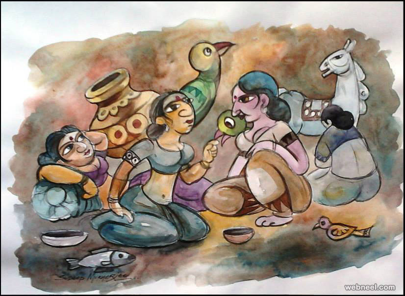 gossip Indian artworks