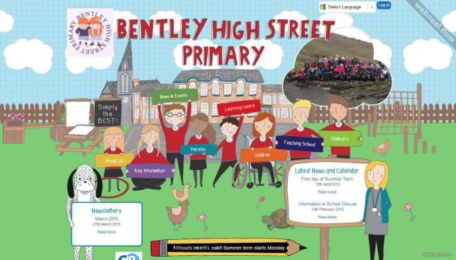 school website bentley