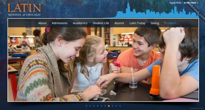 school website latin