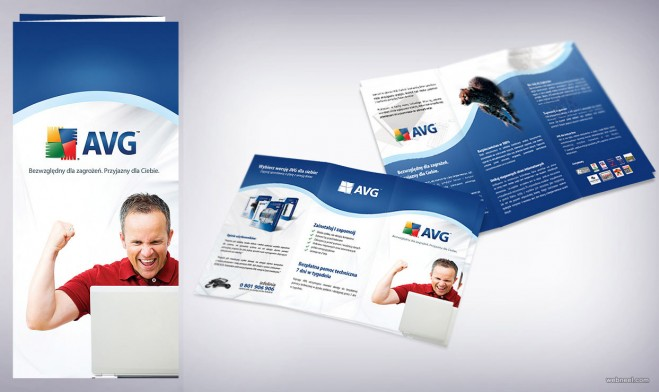 corporate avg brochure design