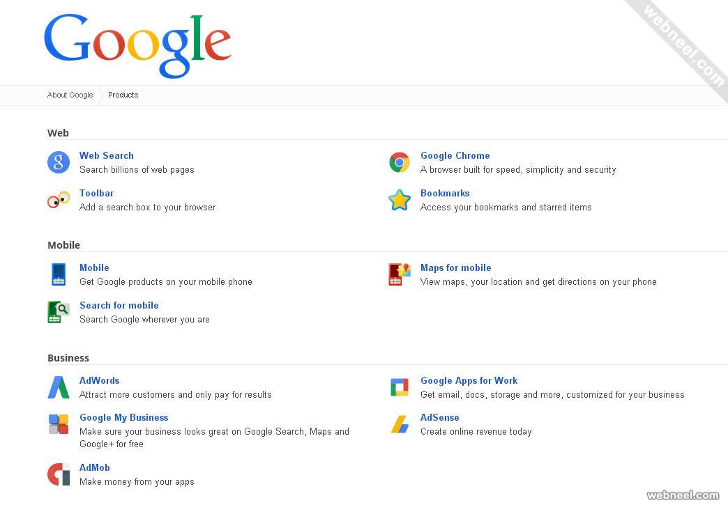 most popular website google