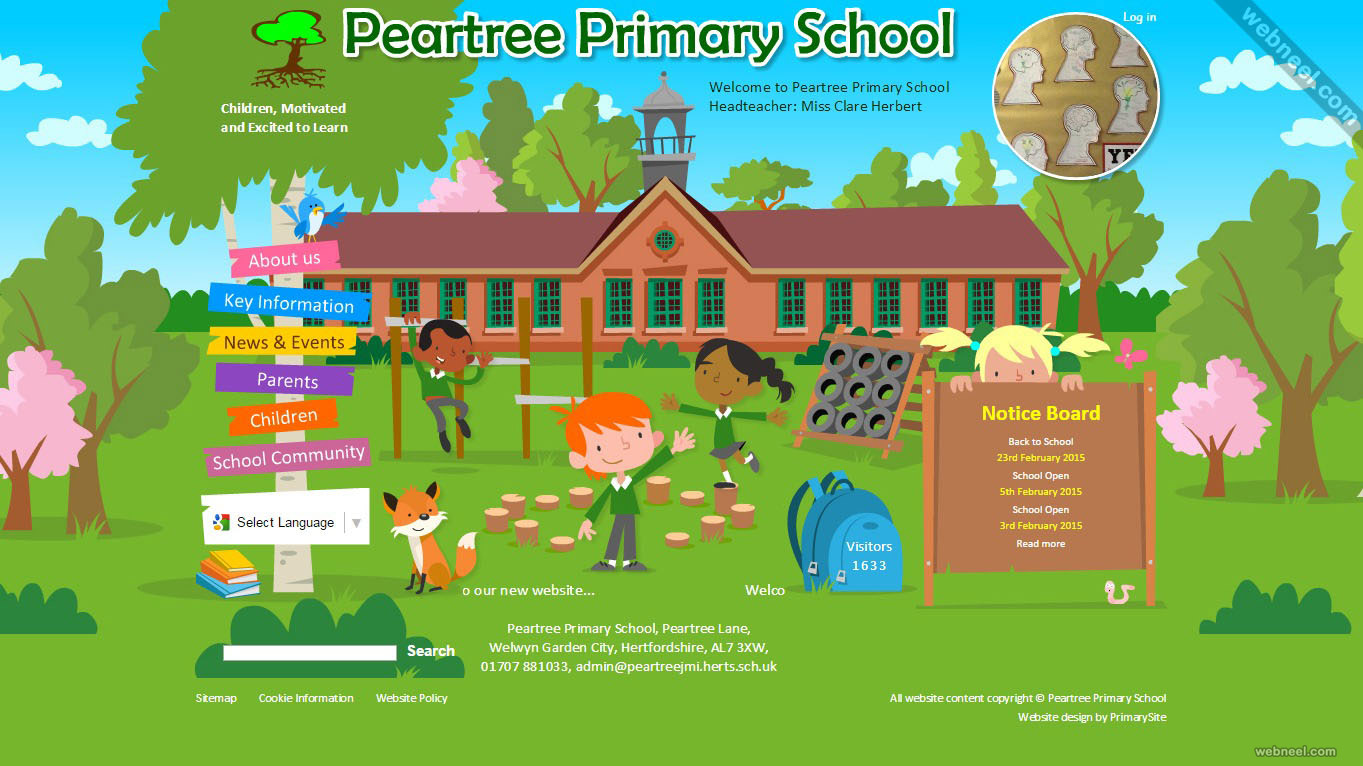 school website peartree
