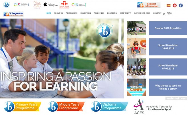 school website sotogrande