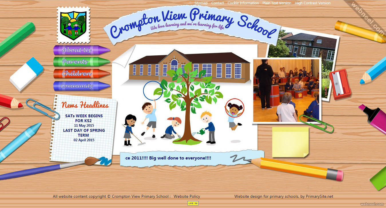 school website crompton