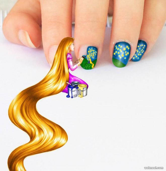3d art nail by kristinawebb