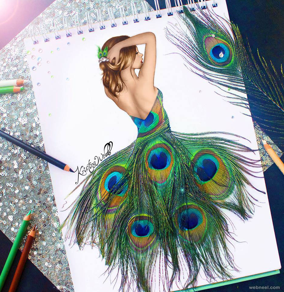 color pencil drawing by kristina