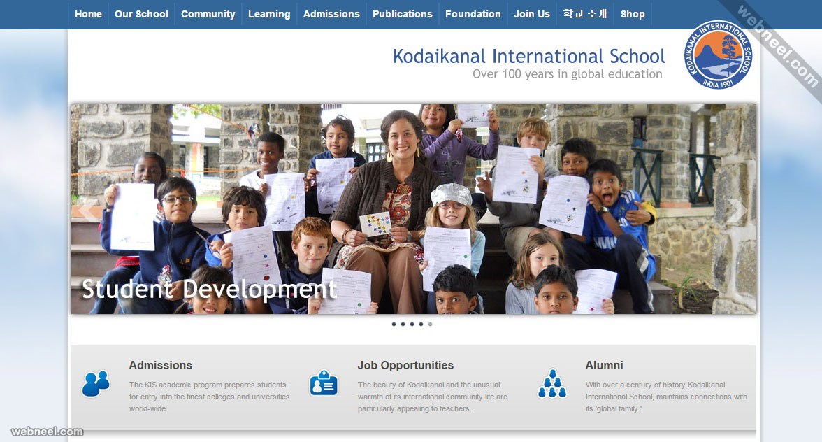 school website kis india
