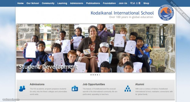 school website kis india
