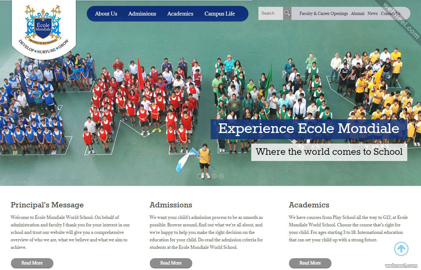 school website ecole