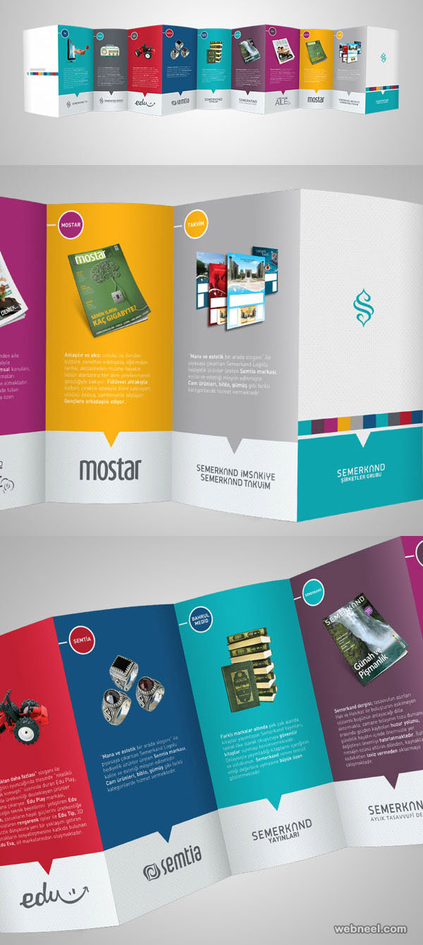 decofold brochure design