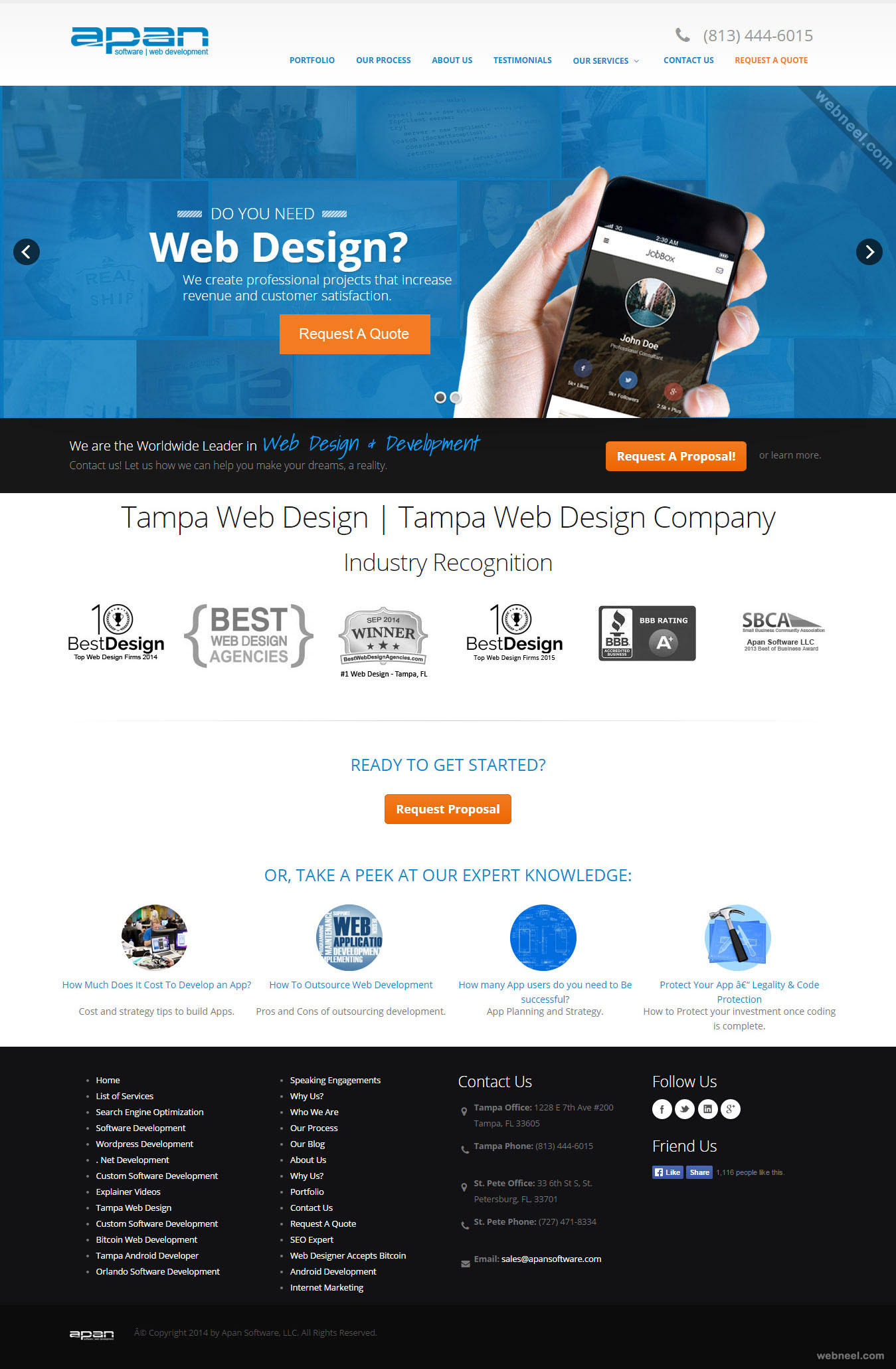 top design company tampa web design florida