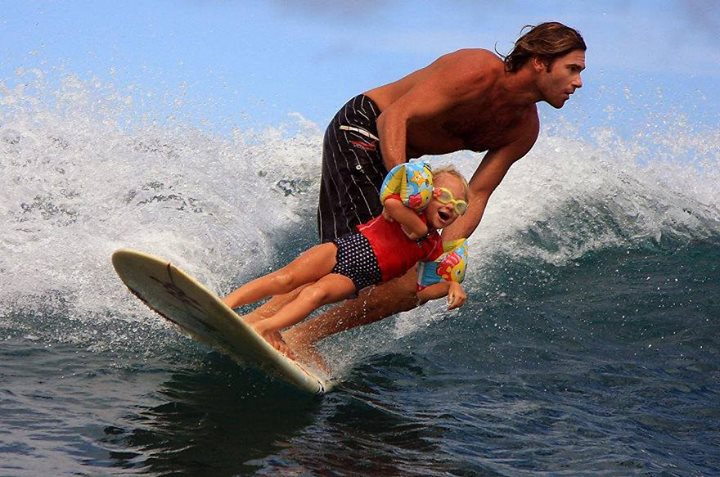 amazing photography kid water surfing
