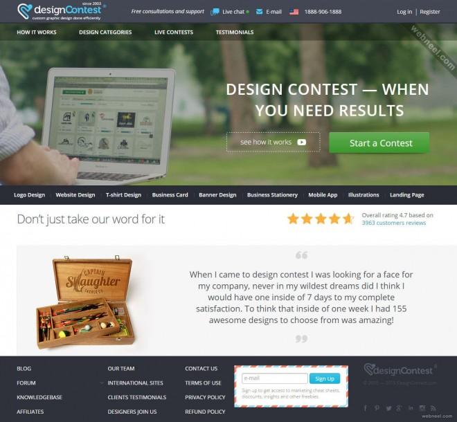 custom logo design services designcontest