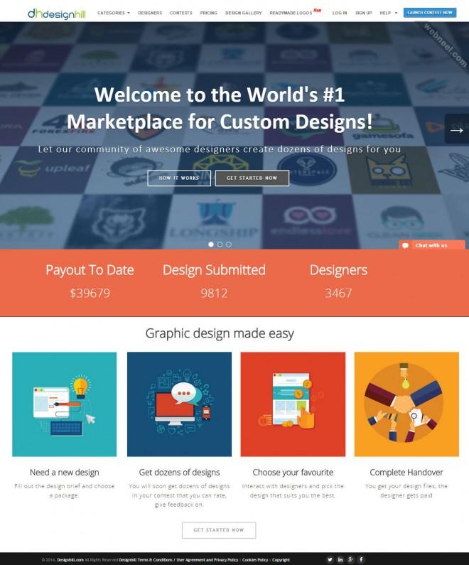 custom logo design services designhill copy
