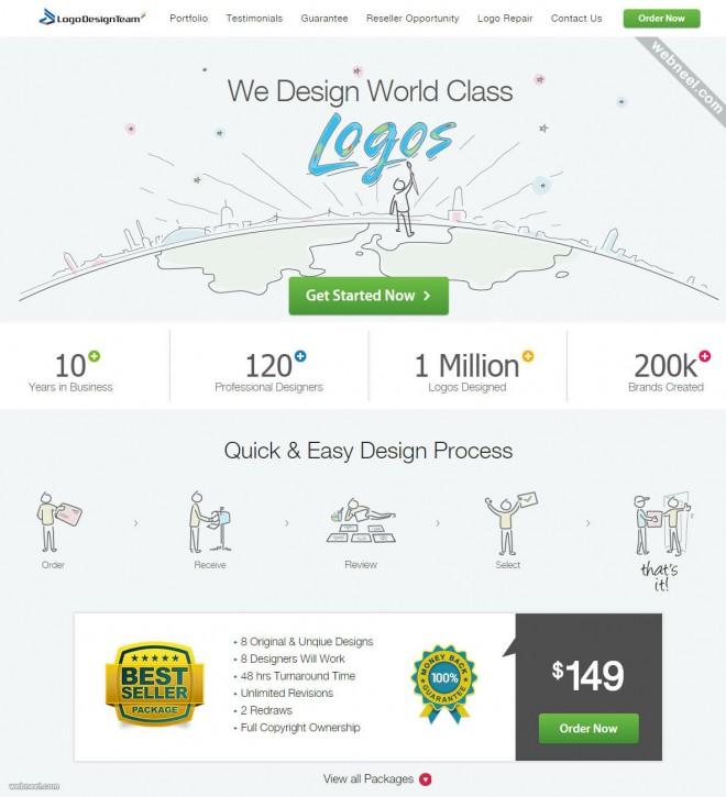 custom logo design services logodesignteam