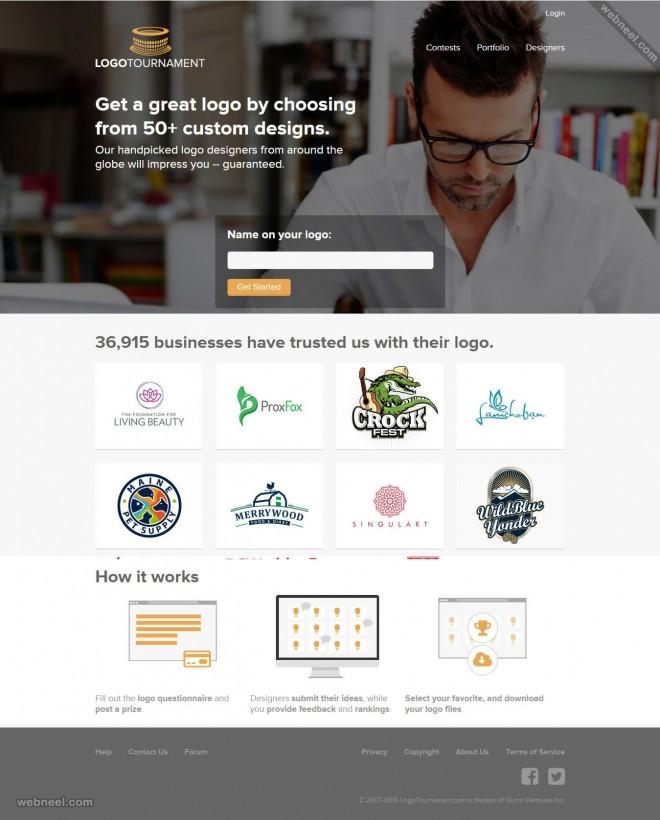 custom logo design services logotournament