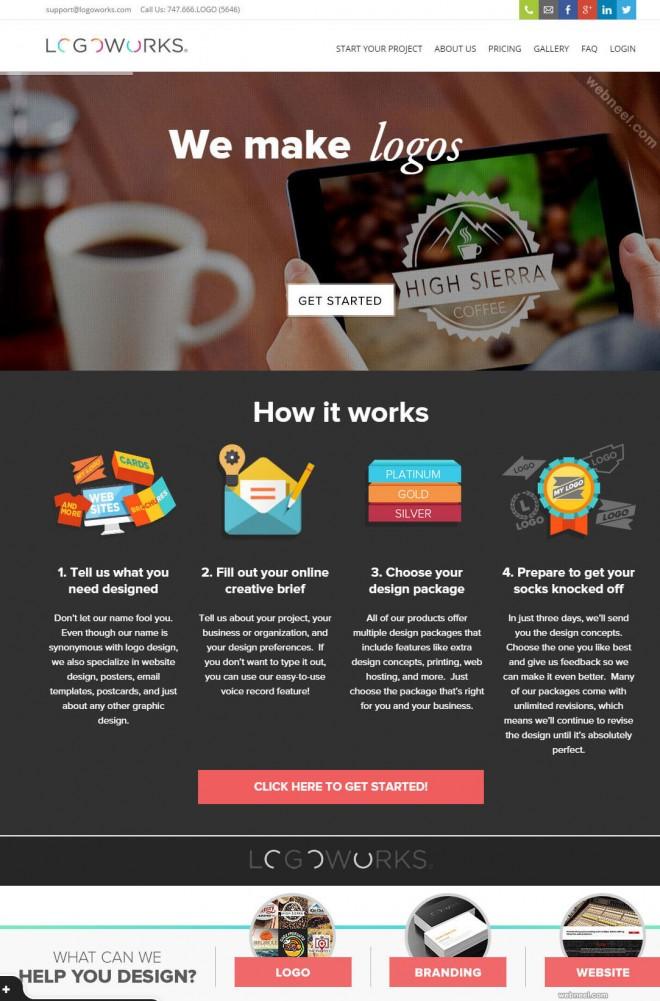 custom logo design services logoworks
