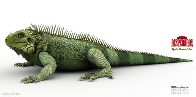 creature 3d model by robert kuczera