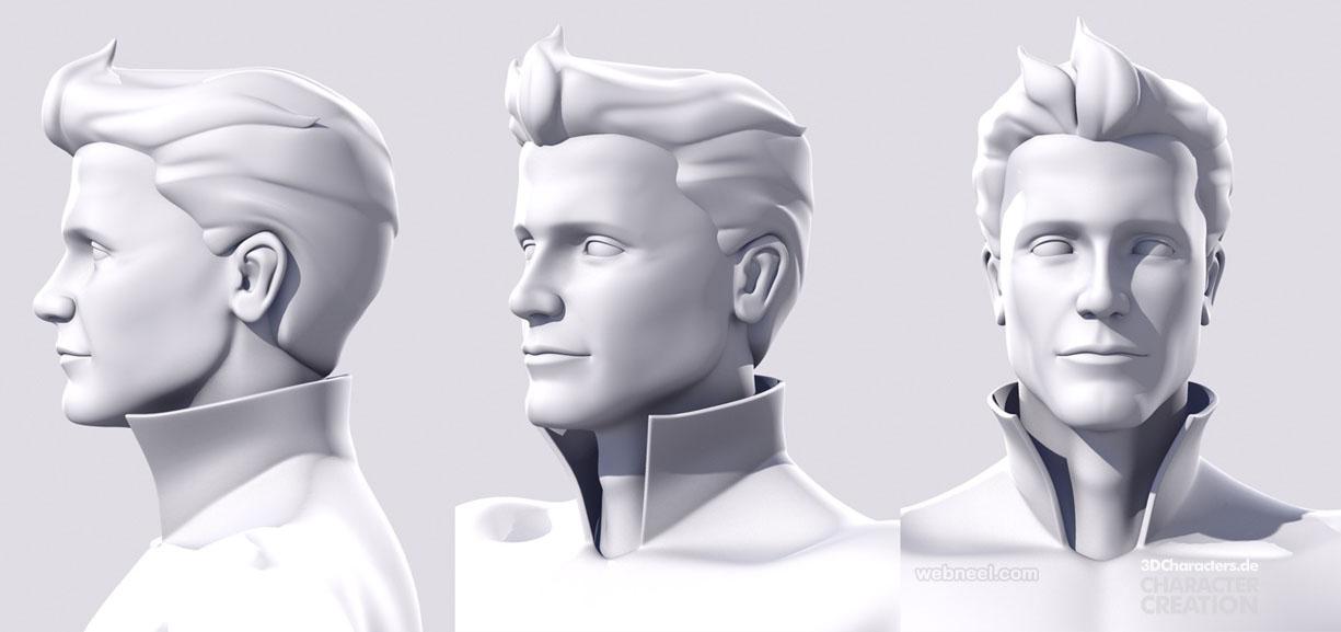 face 3d modelling