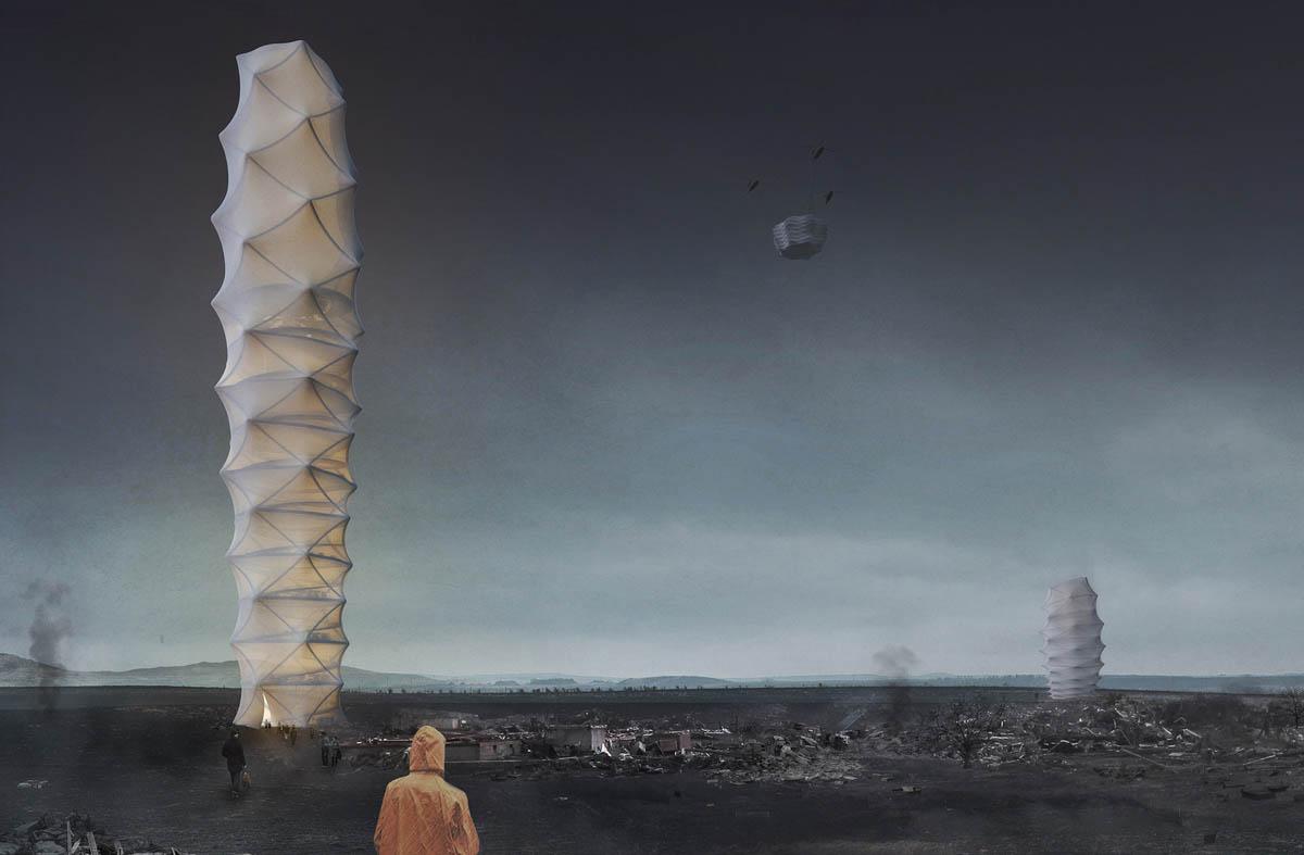 evolo skyscraper competition winner architecture design by damian granosik