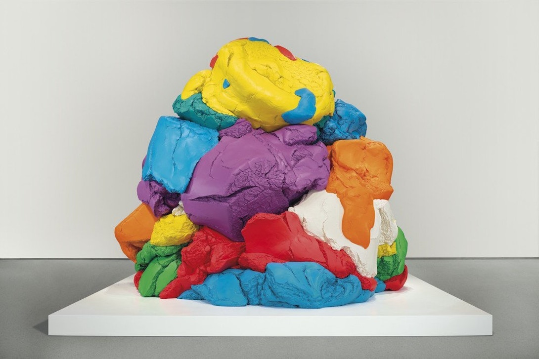 play doh sculpture by jeff koons