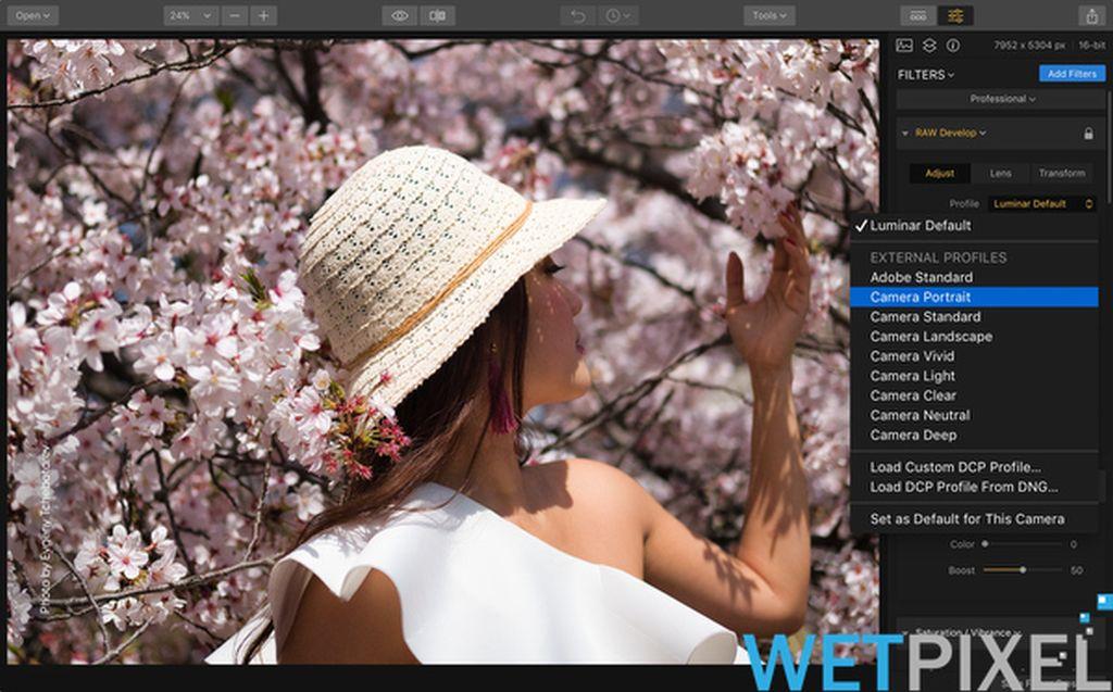 luminar jupiter photo editing software