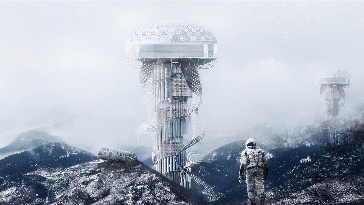 earth healer evolo skyscraper competition architecture design