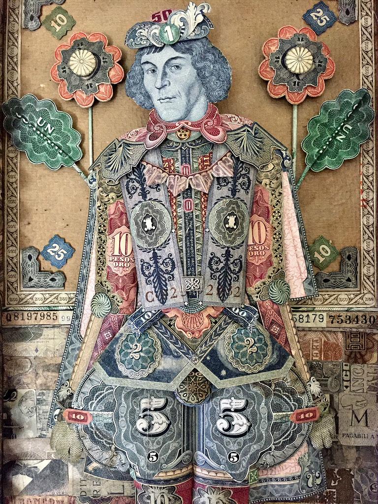 paper art work money