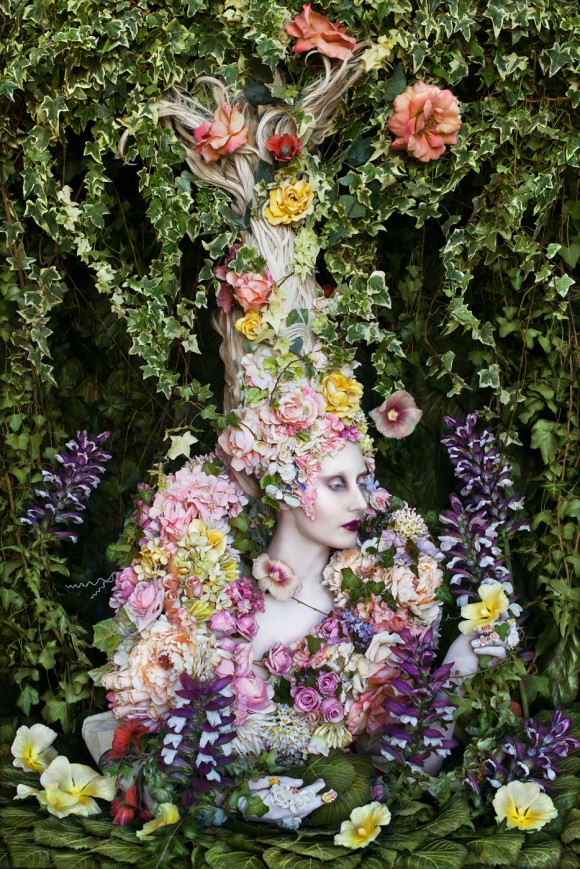 fantasy photography woman by kirsty mitchell
