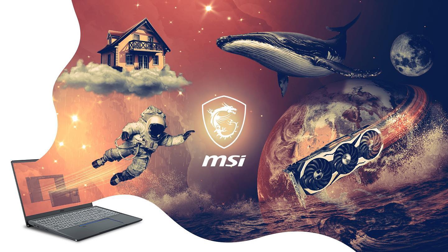 photo manipulation msi space