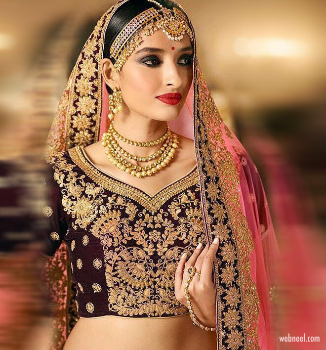blouse design bridal embroidery work