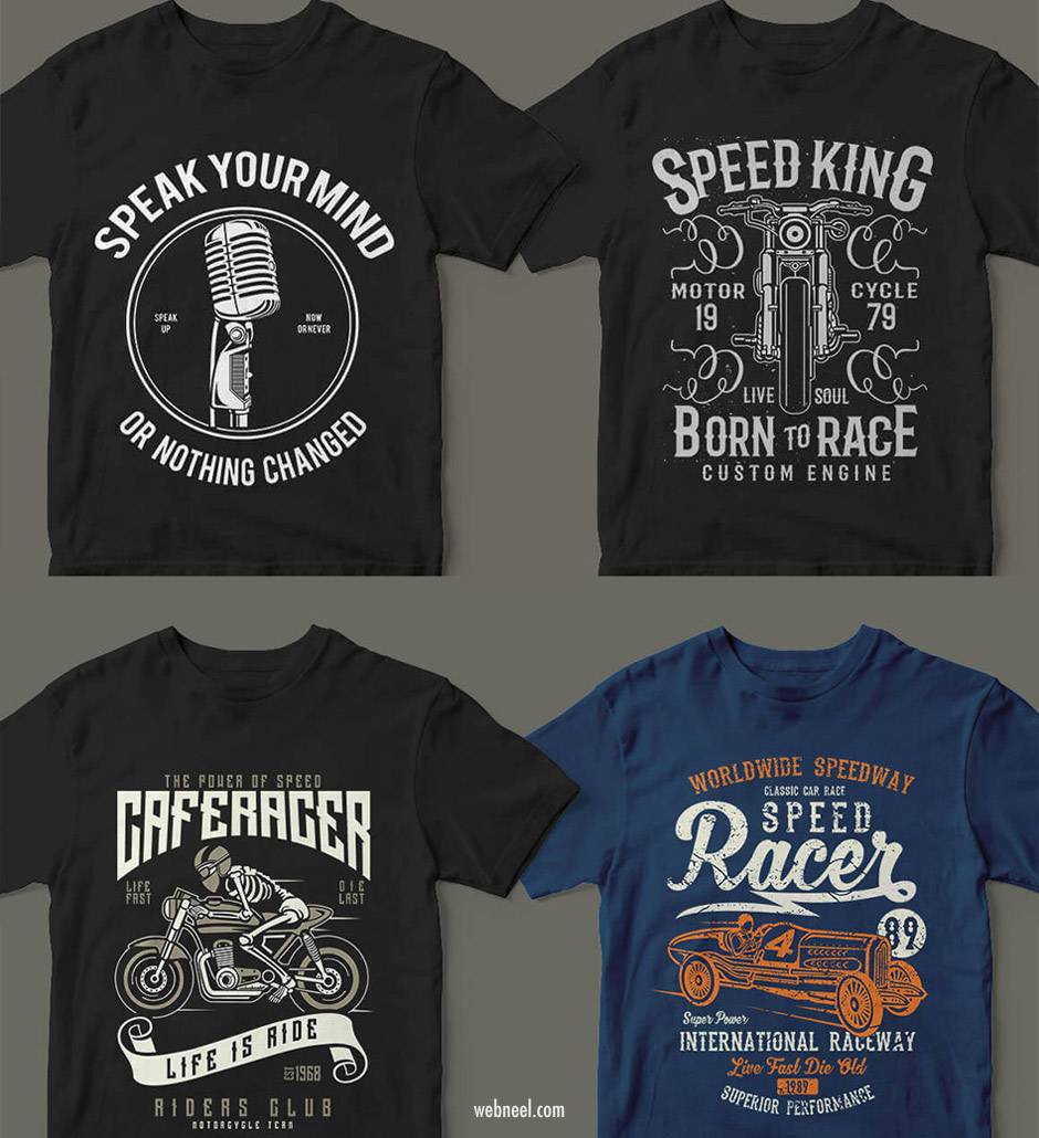 tshirt graphic design idea motor