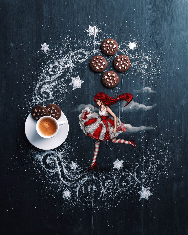 creative artwork idea cookies