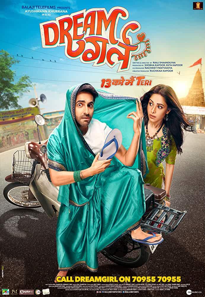 india movie poster design dream girl