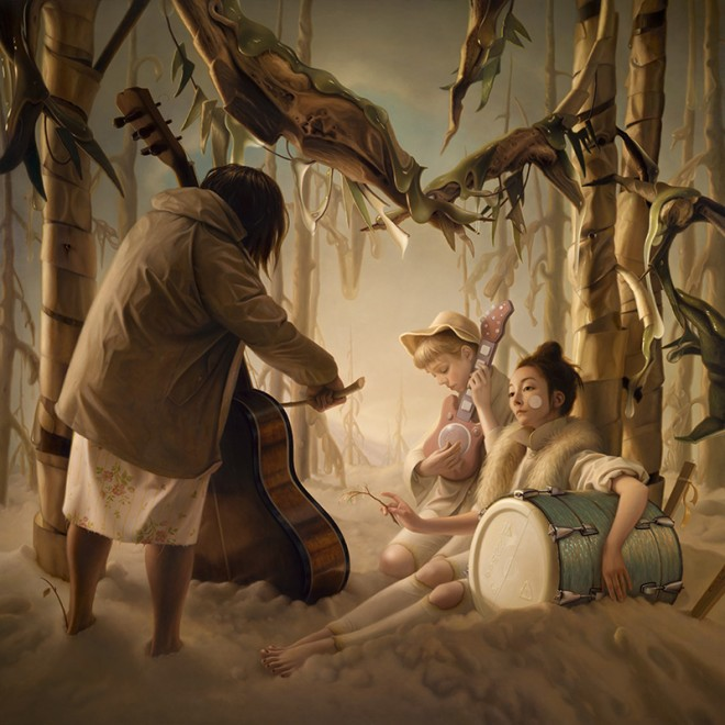 painting musician